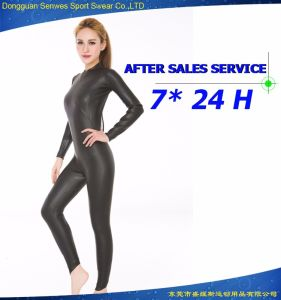 Neoprene Woman′s Fitness Smooth Skin Diving Equipment Surfing Suit pictures & photos