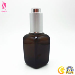 High-Grade Glass Cosmetic Serum Dropper Bottle pictures & photos