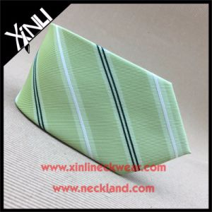 China Factory 100% Handmade Jacquard Woven Man Polyester Necktie pictures & photos