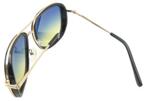 Fxp161718 Grace Women Sunglass Metal Temple Sunglasses Polarized Lens Ture Mirror pictures & photos
