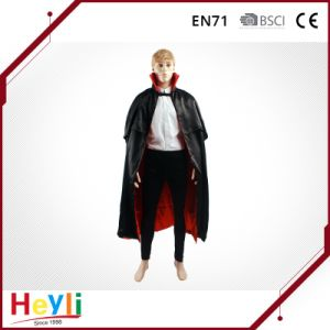 Classical Adult Halloween Party Vampire Cloak Cape pictures & photos