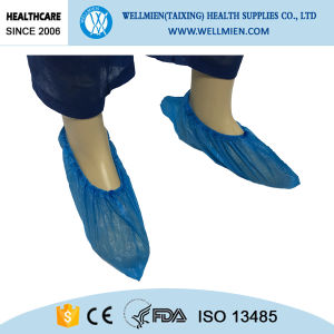 Waterproof Disposable PE Shoe Cover pictures & photos