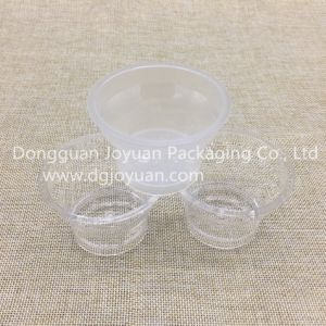 Mini 3oz Pudding Cup Disposable Plastic Cup with Lid pictures & photos