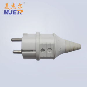 Mjer European Style Electrical 3 Pin Power Plug pictures & photos
