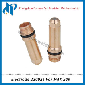 Electrode 220021 for Max 200 Plasma Cutting Torch Consumables 200A pictures & photos