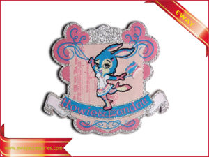 Quality Woven Patch Garment Cotton Fabric Patch pictures & photos