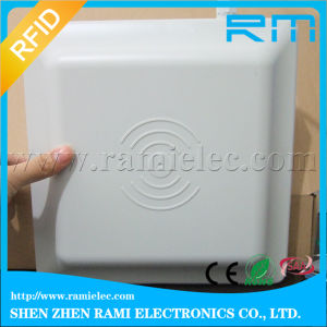 UHF RFID Reader Writer with Series Port for Parking System 8 dBi Antenna