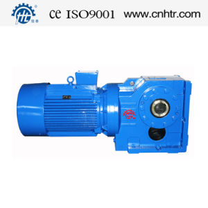 HK Series Helical Gear Reducer with Flange pictures & photos