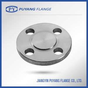 Forged Stainless Steel Blind Pipe Flange (PY0023) pictures & photos