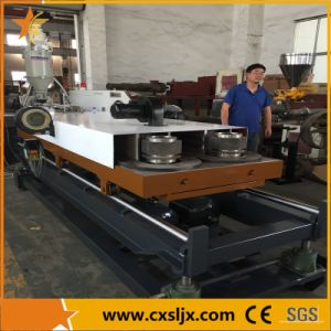 PE/PVC Double Wall/Layer Flexible Corrugated Pipe Extrusion Machine pictures & photos
