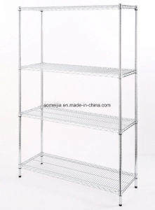 Hot Sale Metal Chrome Wire Flowers Shelf for  Jordan pictures & photos