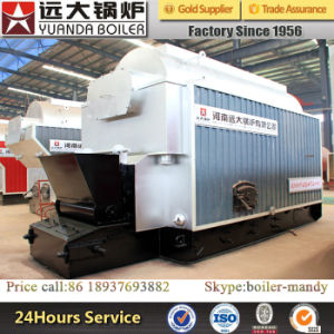 Dzl Type 4ton Capacity 1.25MPa 1.6MPa 2.5MPa Coal Fired Steam Boiler with Chain Grate Stoker pictures & photos