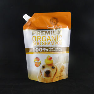 1000ml Stand up Dog Shampoo Bag with Spout Design pictures & photos