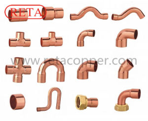 Plumbing Use Copper Fitting Made by Pure Copper pictures & photos
