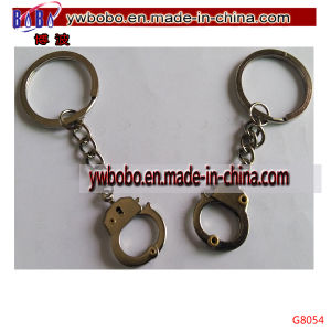 Promotional Products Keyholder Handcuff Crafts Promotion Keychain (G8054) pictures & photos