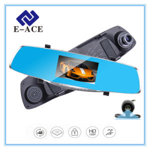 Full HD Rearview Mirror Two Camera Lens Car DVR pictures & photos