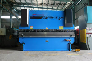 Wf67y 63t/2500 Manual Hydraulic Plate Press Brake Bending Machine pictures & photos