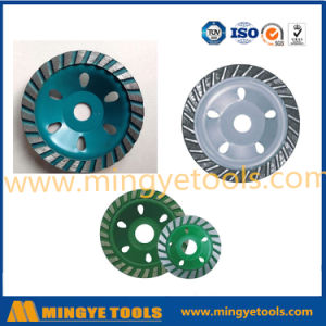 "4"" Single Stone Diamond Cup Abrasive Grinding Wheel pictures & photos"