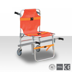 Foldable Aluminum Alloy Stair Stretcher (HS-5A) pictures & photos