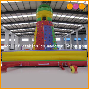Kid Inflatable Sports Games inflatable Rock Climb with Slide (AQ1932) pictures & photos