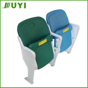 Red Blue Yellow Folding HDPE Stadium Chair Stadium Seating Blm-4651 pictures & photos