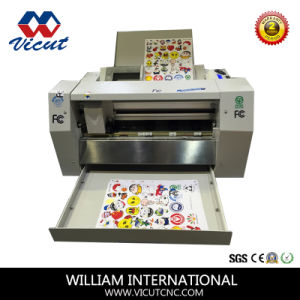 Contour Cut PVC Vinyl Cutter for Sticker pictures & photos