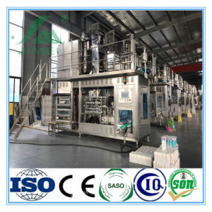 New Technology Brick Shape Carton Manual Filling and Sealing Machine pictures & photos