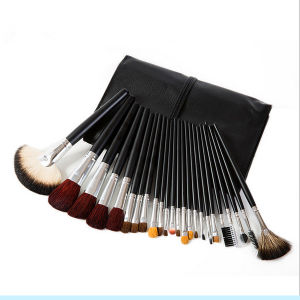New Style 24PCS Multifunction Animal Wool Cosmetic Brush Set pictures & photos