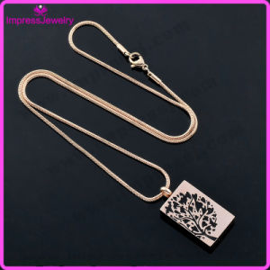 Blank 316L Stainless Steel Pendant Necklace Cremation Jewelry (Tree of Life) pictures & photos