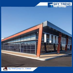 Sandwich Panel Wall and Steel Frame Shed Workshop for Carport Hangar Poultry House pictures & photos