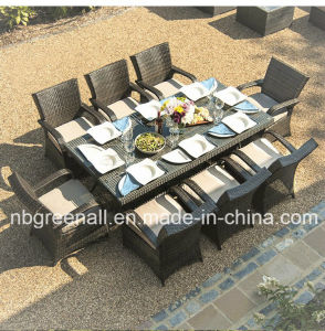 8 Seater Large Table Patio Rattan Outdoor Garden Furniture pictures & photos