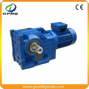 Foot Mounted Helical Bevel Speed Reducer pictures & photos