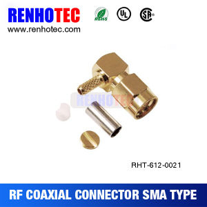 Bulkhead SMA Male Connector for PCB Mount pictures & photos