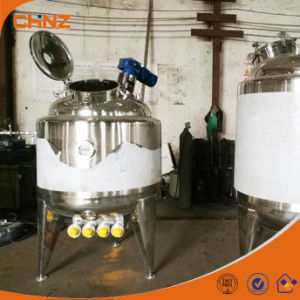 Popular Used 1000 Liter Double Jacketed Electric Heating Mixing Tank Price pictures & photos