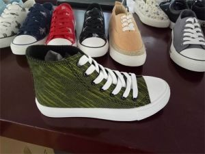Canvas Shoes Casual Shoe Lace Popular Hot Sale Shoes pictures & photos