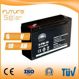 Futuresolar Lead Acid Battery 6V 10ah Solar Panel Rechargeable Battery