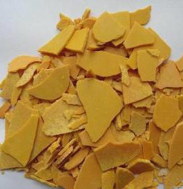 Used in Textile. Dye Sodium Sulfide Yellow Flakes pictures & photos