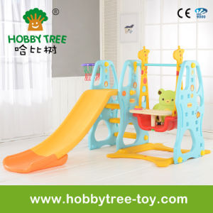 2017 Popular Style Ce Standard Mini Indoor Plastic Slide Toys (HBS17025C) pictures & photos