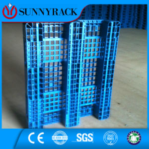 Selective HDPE Logistic Warehouse Plastic Pallet pictures & photos