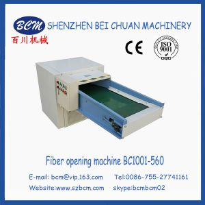 Polyester Fiber Cadring&Opening Machine pictures & photos