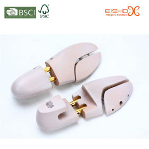 High Quality Wooden Shoe Trees for Hotel pictures & photos