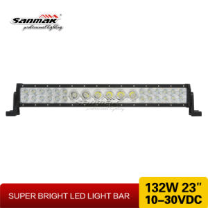 "New Exclusive Mix Rows 23"" 132W LED Light Bar pictures & photos"