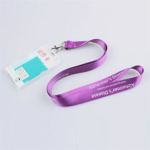 Breakaway PVC Name/ID Card Badge Reel Holder Custom Lanyard with Badge Holder (NLC005) pictures & photos