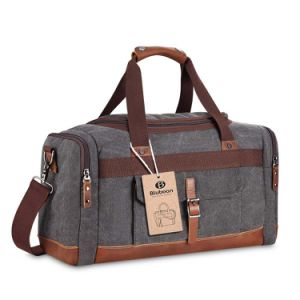 Holdall Overnight Weekend Bag Travel Duffel Bag Canvas Leather pictures & photos