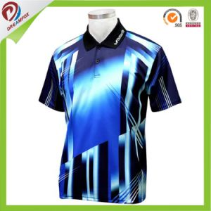 New Design Team Custom Sublimated Cricket Jersey Pattern pictures & photos