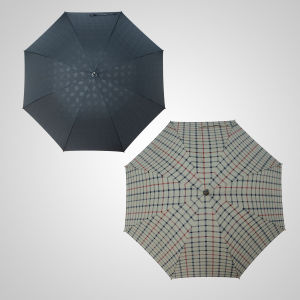 Straight Manual Wooden Handle Shaft Fashion Umbrella High Quality Rain Umbrella (JL-MBB102) pictures & photos