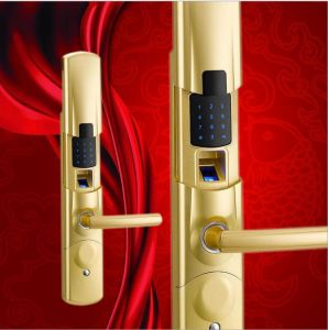 Hot Selling 4 in 1 Smart RFID Fingerprint Door Lock pictures & photos