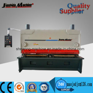 QC11y 4mm CNC Hydraulic Guillotine Shearing Machine pictures & photos