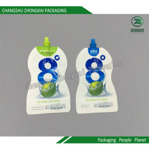Stand up Pouch with Spout Liquid Laminated Plastic Packaging pictures & photos