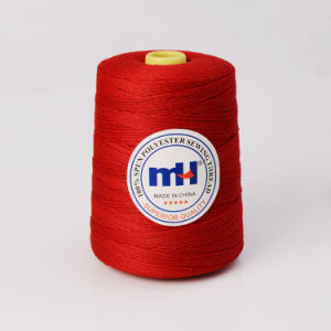 High Quality 30/3 30s/3 Spun Polyester Sewing Threads pictures & photos